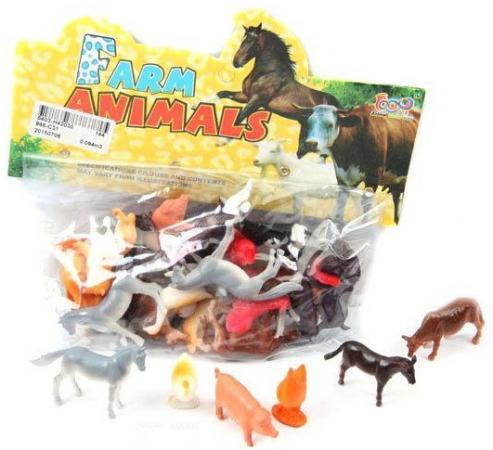 Набор фигурок Shantou Gepai Домашние животные 4 см 866-C31 farm animals