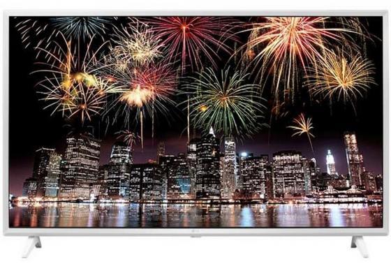 Телевизор 49 LG 49UJ639V белый 3840x2160 Wi-Fi Smart TV Bluetooth