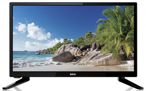 "Телевизор LED 20"" BBK 20LEM-1026/T2C черный 1366x768 50 Гц USB VGA HDMI"