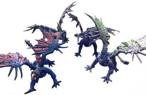 Фигурка Shantou Gepai Дракон 15 см 635663 ящики для игрушек shantou gepai корзина зайка 36х48 см