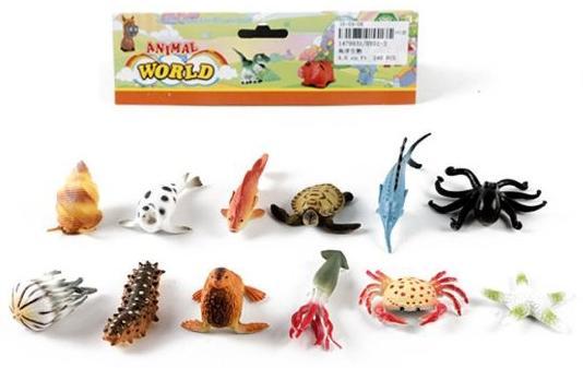 Набор фигурок Shantou Gepai Морские животные HY01-3 набор фигурок shantou gepai дикие животные