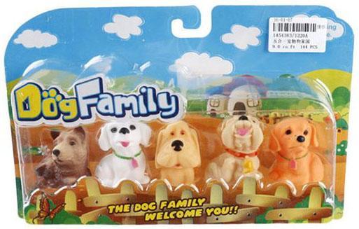 Набор фигурок Shantou Gepai Dog Family - Собачки в ассортименте микроволновая печь shantou gepai happy family 8129