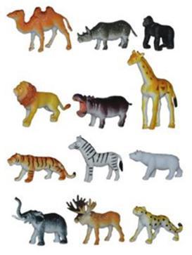 Набор фигурок Shantou Gepai Дикие животные YW01-1 графика дикие звери