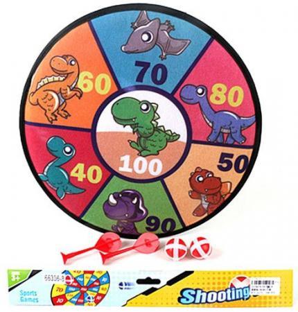 Спортивная игра дартс Shantou Gepai Динозаврики спортивная игра shantou gepai дартс 6927715626742
