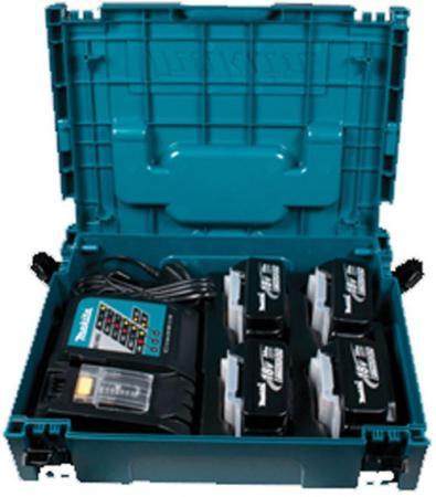 Набор Makita аккумулятор + зарядное устройсво + кейс 198312-4 аккумулятор makita 193100 4