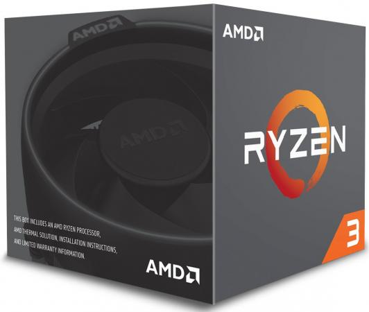 Процессор AMD Ryzen X4 R3-1300X YD130XBBAEBOX Socket AM4 BOX процессор amd процессор amd ryzen 3 1300x am4 box
