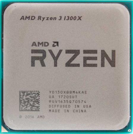 Процессор AMD Ryzen X4 R3-1300X YD130XBBM4KAE Socket AM4 OEM процессор amd a10 9700 ad9700agm44ab socket am4 oem