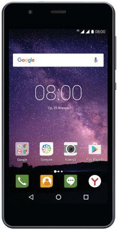 Смартфон Philips S318 темно-серый 5 16 Гб LTE Wi-Fi GPS 3G смартфон philips xenium s327 синий 5 5 8 гб lte wi fi gps 3g