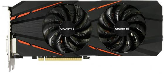 Видеокарта 3072Mb Gigabyte GeForce GTX1060 PCI-E 192bit GDDR5 DVI HDMI DP GV-N1060G1GAMING-3GD 2.0 Retail видеокарта msi geforce gtx 1060 1594mhz pci e 3 0 6144mb 8100mhz 192 bit dvi hdmi hdcp gtx 1060 gaming x 6g