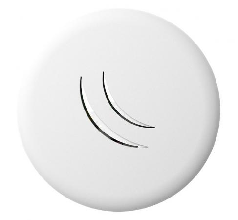 Точка доступа MikroTik cAP lite 802.11bgn 2.4 ГГц 1xLAN белый RBcAPL-2nD беспроводная точка доступа mikrotik rbmapl 2nd map lite with 650mhz cpu 64mb ram 1xlan built in dual chain 2 4ghz 802 11bgn dual chain wireless with integrated
