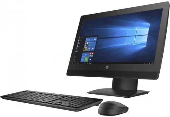 """Моноблок 20"""" HP ProOne 400 G3 All-in-One 1600 x 900 Intel Core i5-7500T 4Gb SSD 256 Intel HD Graphics 630 Windows 10 Professional черный 2KL21EA"""