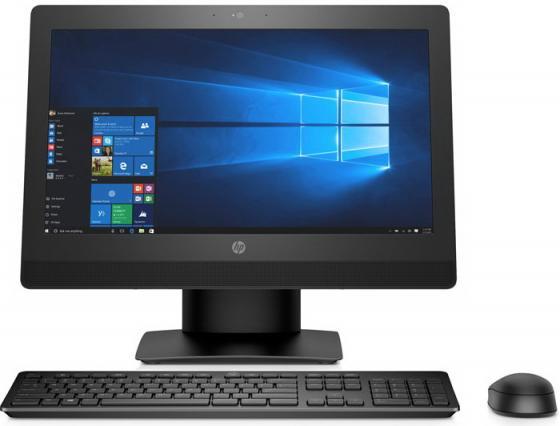 """Моноблок 20"""" HP ProOne 400 G3 All-in-One 1600 x 900 Intel Core i5-7500T 4Gb 1Tb Intel HD Graphics 630 Windows 10 Professional черный 2KL56EA"""