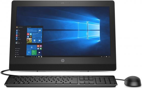 """Моноблок 20"""" HP ProOne 400 G3 AiO 1600 x 900 Intel Core i3-7100T 4Gb 1Tb Intel HD Graphics 630 DOS черный 2KL17EA"""