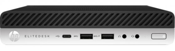 Неттоп HP EliteDesk 800 G3 Mini Intel Core i7 7700T 8 Гб SSD 256 Гб Intel HD Graphics 630 Windows 10 Pro 1CB55EA компьютер hp 290 g1 sff intel core i5 8500 8 гб ssd 256 гб intel hd graphics 630 windows 10 pro 3zd97ea