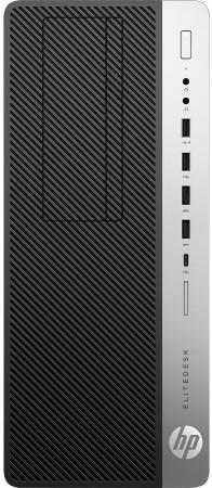 Системный блок HP EliteDesk 800 G3 TWR i5-6500 3.2GHz 4Gb 500Gb HD530 DVD-RW Win7Pro Win10Pro серебристо-черный 1HK68EA системный блок dell optiplex 7040 sff i5 6500 3 2ghz 4gb 500gb hd530 dvd rw win7pro win10pro клавиатура мышь серебристо черный 7040 2686