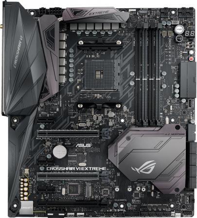 Материнская плата ASUS ROG CROSSHAIR VI EXTREME Socket AM4 AMD X370 4xDDR4 3xPCI-E 16x 3xPCI-E 1x 8 ATX Retail 90MB0UJ0-M0EAY0 спринклер cадовый 100 8 12 e ch 62965 06