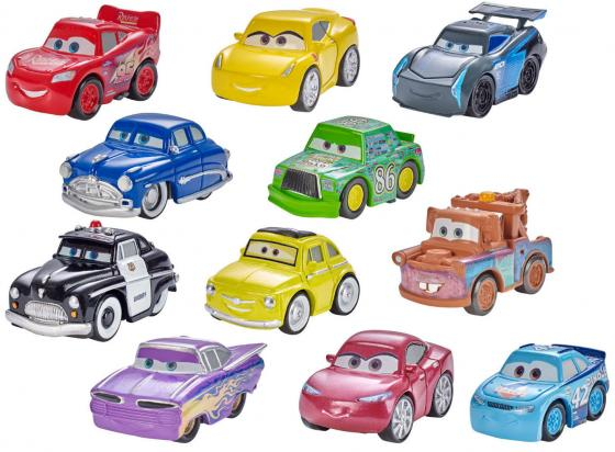 Машинка MATTEL Mini Racers FBG74 в ассортименте mattel cars dvd32 машинка с автоподзаводом