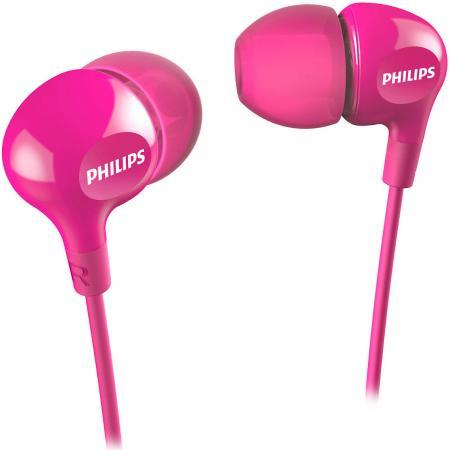 Наушники Philips SHE3550PK/00 розовый наушники philips she 3590bl 10