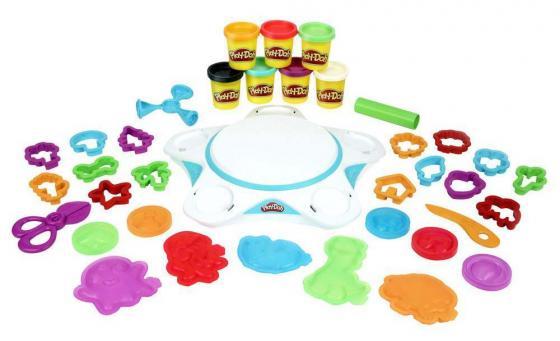Набор для лепки HASBRO Play-Doh «СОЗДАЙ МИР» СТУДИЯ 7 цветов всё для лепки play doh hasbro набор для праздника 15 банок
