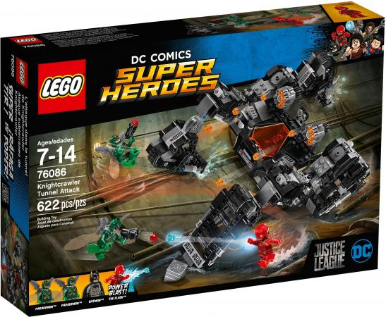Конструктор LEGO Super Heroes Сражение в туннеле 622 элемента 76086 конструктор lego marvel super heroes реактивный самолёт мстителей 76049