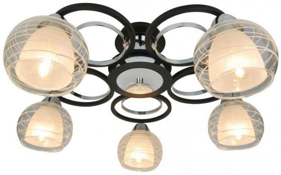 цена на Потолочная люстра Arte Lamp Ginevra A1604PL-5BK
