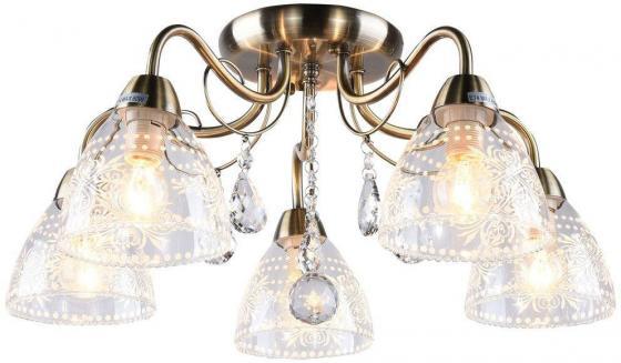 Потолочная люстра Arte Lamp Rugiada A1658PL-5AB потолочная люстра artelamp a1658pl 5ab