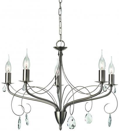 Подвесная люстра Arte Lamp Purezza A6645LM-5SS