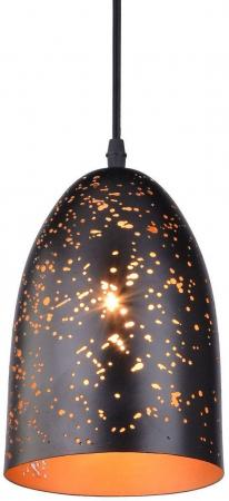 Подвесной светильник Arte Lamp Buchino A1615SP-1BK бра arte lamp buchino 1 х e27 40 w a1615sp 1bk