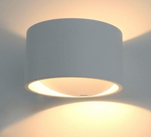 Настенный светодиодный светильник Arte Lamp Cerchito A1417AP-1WH накладной светильник arte lamp a1417ap 1wh