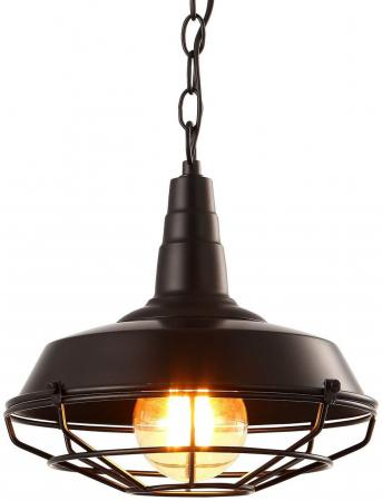Подвесной светильник Arte Lamp Ferrico A9181SP-1BK подвесной светильник arte lamp ferrico a9181sp 1bk
