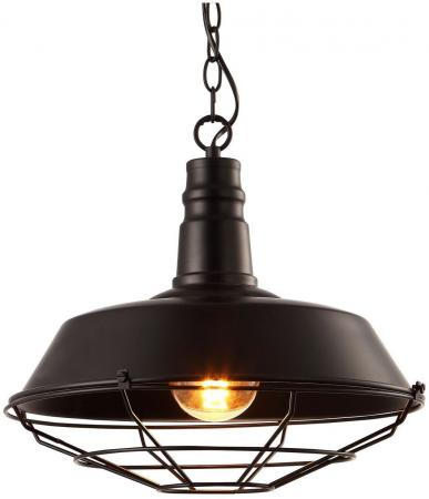 Подвесной светильник Arte Lamp Ferrico A9183SP-1BK подвесной светильник arte lamp ferrico a9183sp 1bg