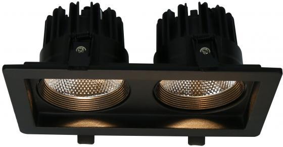 Встраиваемый светодиодный светильник Arte Lamp Privato A7007PL-2BK
