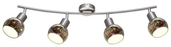 Спот Arte Lamp Illusione A6125PL-4SS потолочная люстра arte lamp illusione a6125pl 3ss