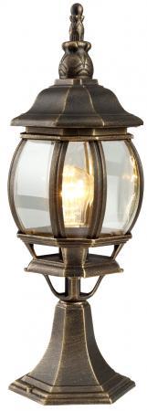 Уличный светильник Arte Lamp Atlanta A1044FN-1BN уличный настенный светильник arte lamp genova a1202al 1bn