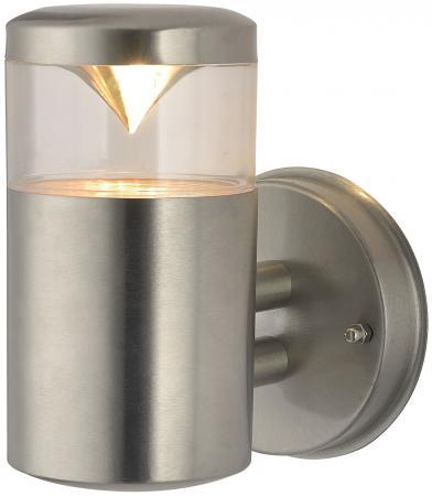 Уличный настенный светильник Arte Lamp Intrigo A8161AL-1SS уличный настенный светильник arte lamp intrigo a8161al 2ss