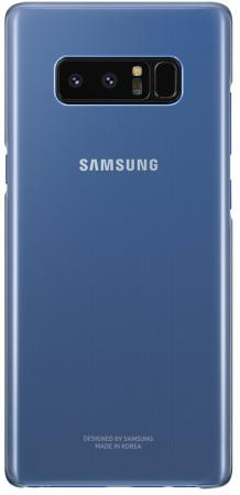 Чехол (клип-кейс) Samsung для Samsung Galaxy Note 8 Clear Cover Great темно-синий (EF-QN950CNEGRU) belsis чехол панель для samsung galaxy note 4 soft touch темно синий