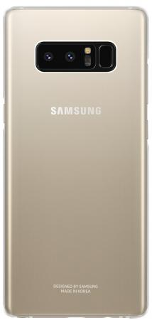 Чехол (клип-кейс) Samsung для Samsung Galaxy Note 8 Clear Cover Great прозрачный (EF-QN950CTEGRU) чехол samsung ef qg570ttegru для samsung galaxy j5 prime clear cover прозрачный