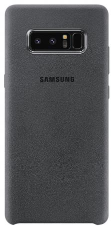Чехол (клип-кейс) Samsung для Samsung Galaxy Note 8 Alcantara Cover Great темно-серый (EF-XN950AJEGRU) highscreen boost 3 pro black