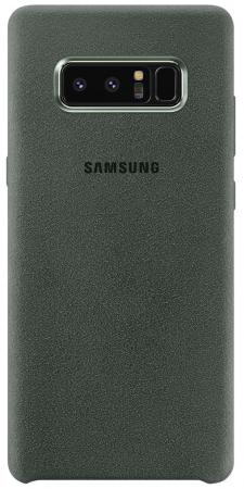 Чехол (клип-кейс) Samsung для Samsung Galaxy Note 8 Alcantara Cover Great хаки (EF-XN950AKEGRU) чехол клип кейс samsung alcantara cover great для samsung galaxy note 8 хаки [ef xn950akegru]