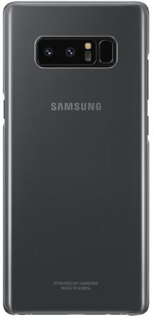 Чехол (клип-кейс) Samsung для Samsung Galaxy Note 8 Clear Cover Great черный (EF-QN950CBEGRU) чехол клип кейс samsung для samsung galaxy note 8 clear cover great фиолетовый ef qn950cvegru