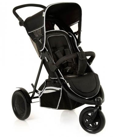 цена на Прогулочная коляска для двоих детей Hauck Freerider SH-12 (black)