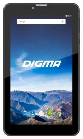 Планшет Digma Plane 7521 4G 7 16Gb черный Wi-Fi 3G Bluetooth LTE Android PS7134ML планшет digma plane 7012m 3g red ps7082mg