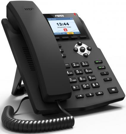 Телефон IP Fanvil X3G 2 линии 2x10/100/1000Mbps цветной LCD телефон ip fanvil x4g 4 линии 2x10 100 1000mbps цветной lcd poe