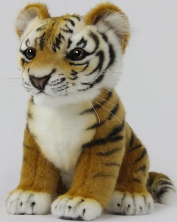 Мягкая игрушка тигр Hansa Детеныш амурского тигра 26 см искусственный мех 7296
