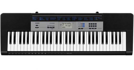Синтезатор Casio CTK-1550 61 клавиша USB черный