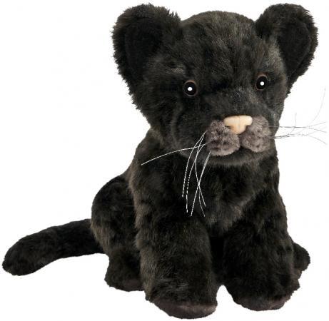 Мягкая игрушка Hansa Детеныш ягуара 17 см черный искусственный мех 7289 vikalex 3 в 1 porta vita red