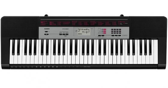 Синтезатор Casio CTK-1500 61 клавиша USB черный
