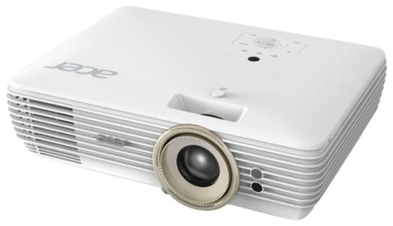 лучшая цена Проектор Acer V7850 3840x2160 2200 люмен 1000000:1 белый MR.JPD11.001
