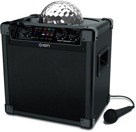 Портативная акустикаION Audio Party Rocker Plus черный vcr 2 pc от ion audio