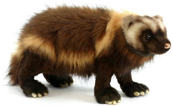Мягкая игрушка Hansa Росомаха 50 см коричневый искусственный мех 5214
